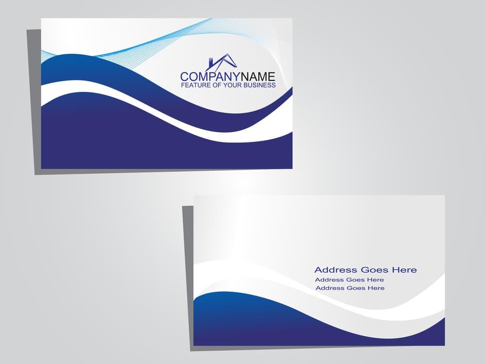 custom business card